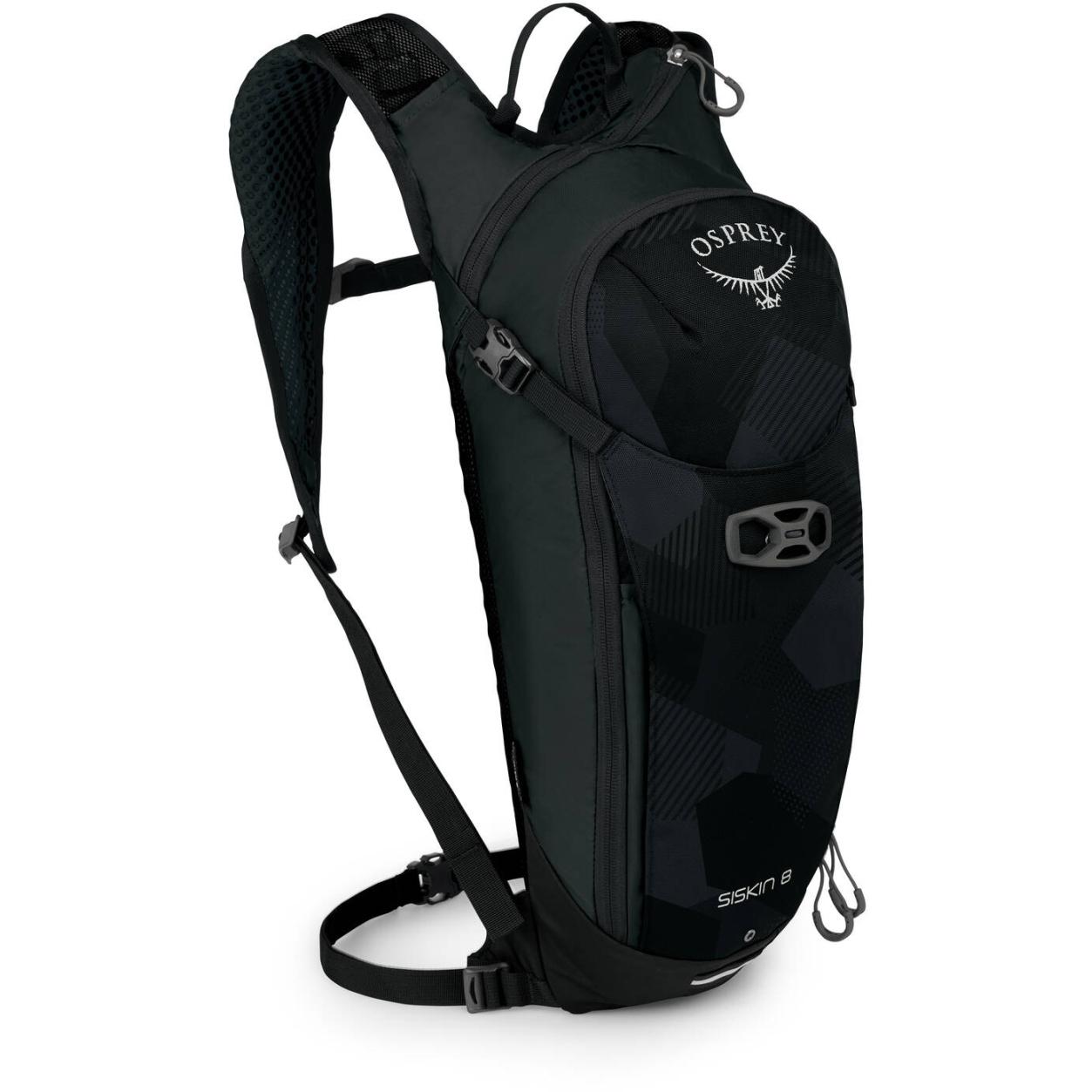 Osprey Siskin 8 Hydration Backpack - Obsidian Black