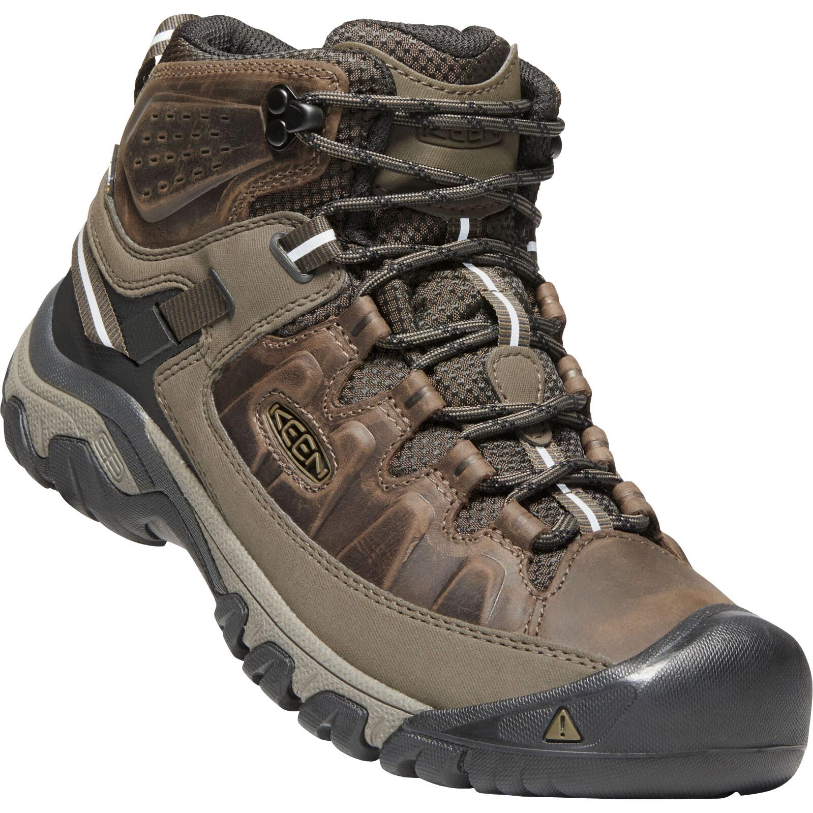 KEEN Targhee III Mid Waterproof Men's Hiking Ankle Boots - Canteen / Mulch