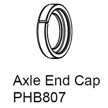 Chris King Axle End Rear Hub - R45 / R45D - QR - PHB807
