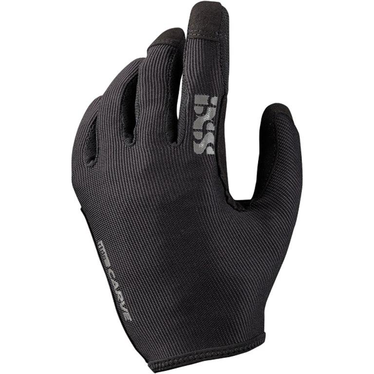 iXS Carve Vollfinger-Handschuhe - black