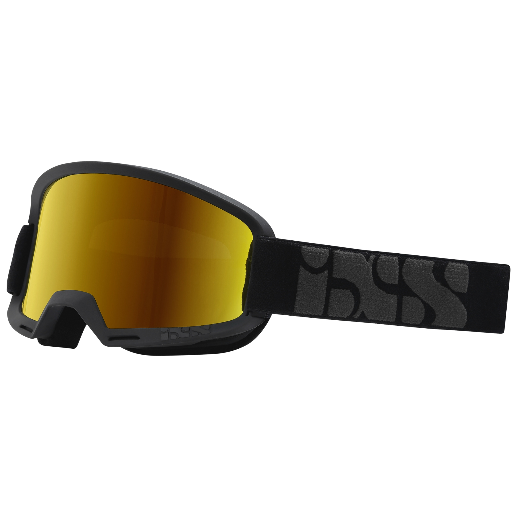 iXS Hack Race Mirror Goggle Bikebrille - black
