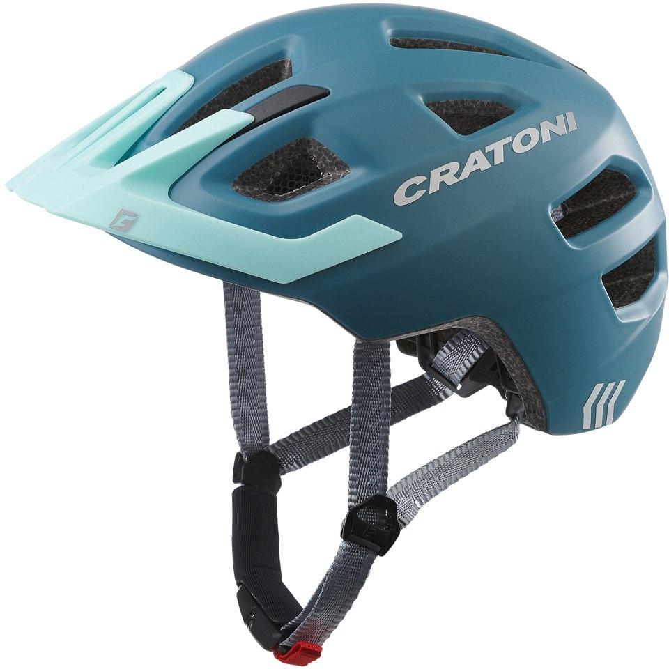 CRATONI Maxster Pro Kids Helmet - steel-blue matt