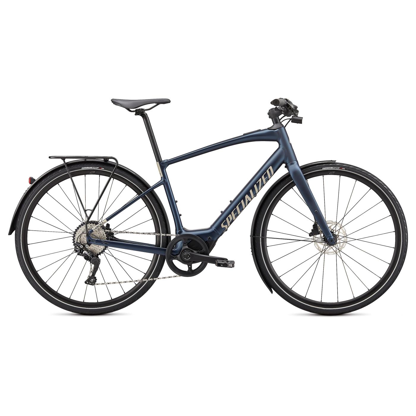 Produktbild von Specialized TURBO VADO SL 4.0 EQ E-Bike - 2021 - navy/white mountains