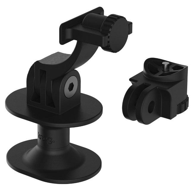 Knog PWR Helmet- and Actioncam Bracket