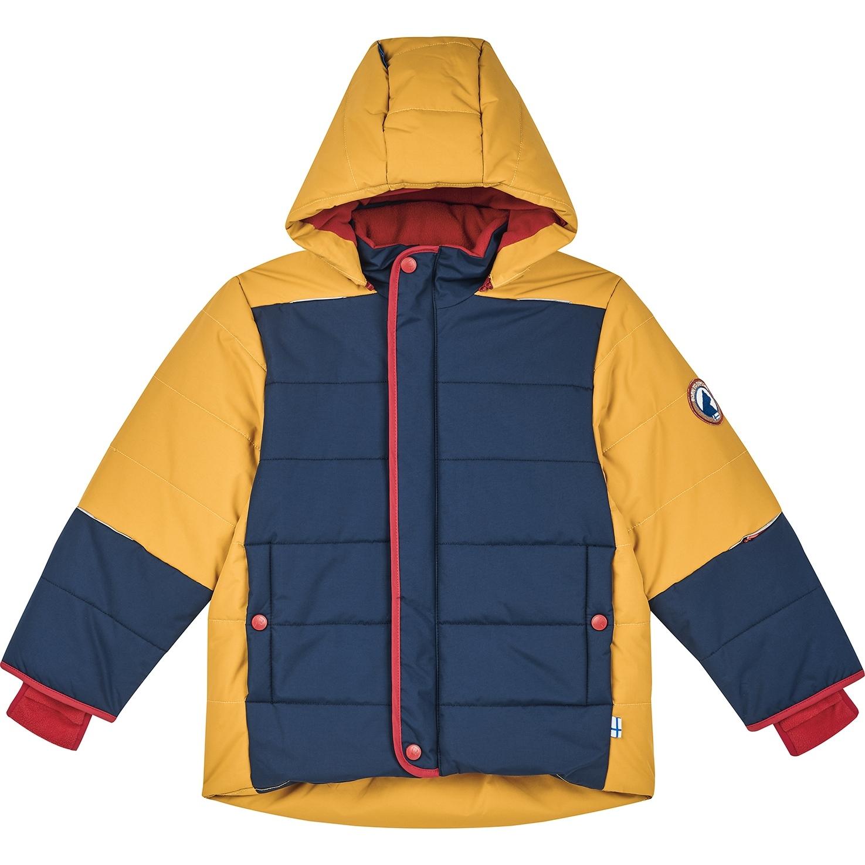 Image of Finkid KOIRA HUSKY Kids Winter Anorak Jacket - persian red/cabernet
