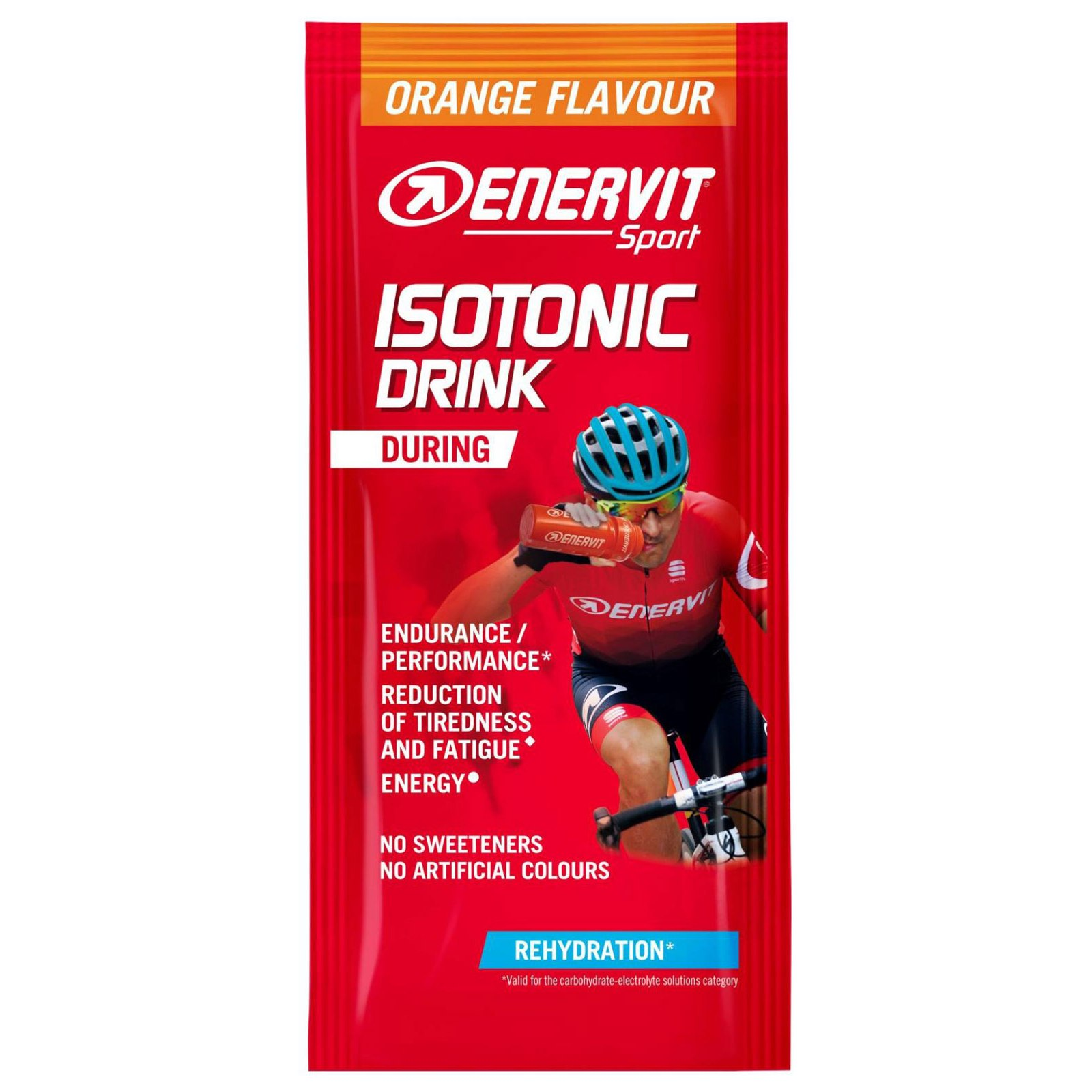 Enervit Isotonic Drink - Carbohydrate Electrolyte Beverage Powder - 15g