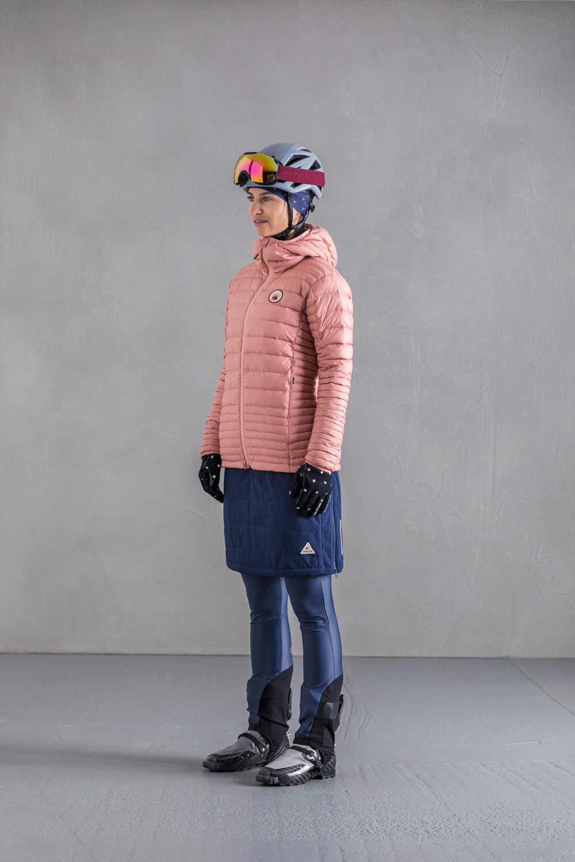Image of Maloja SwingM. Ski Mountaineering Primaloft Skirt Women's 30119 - moonless 817