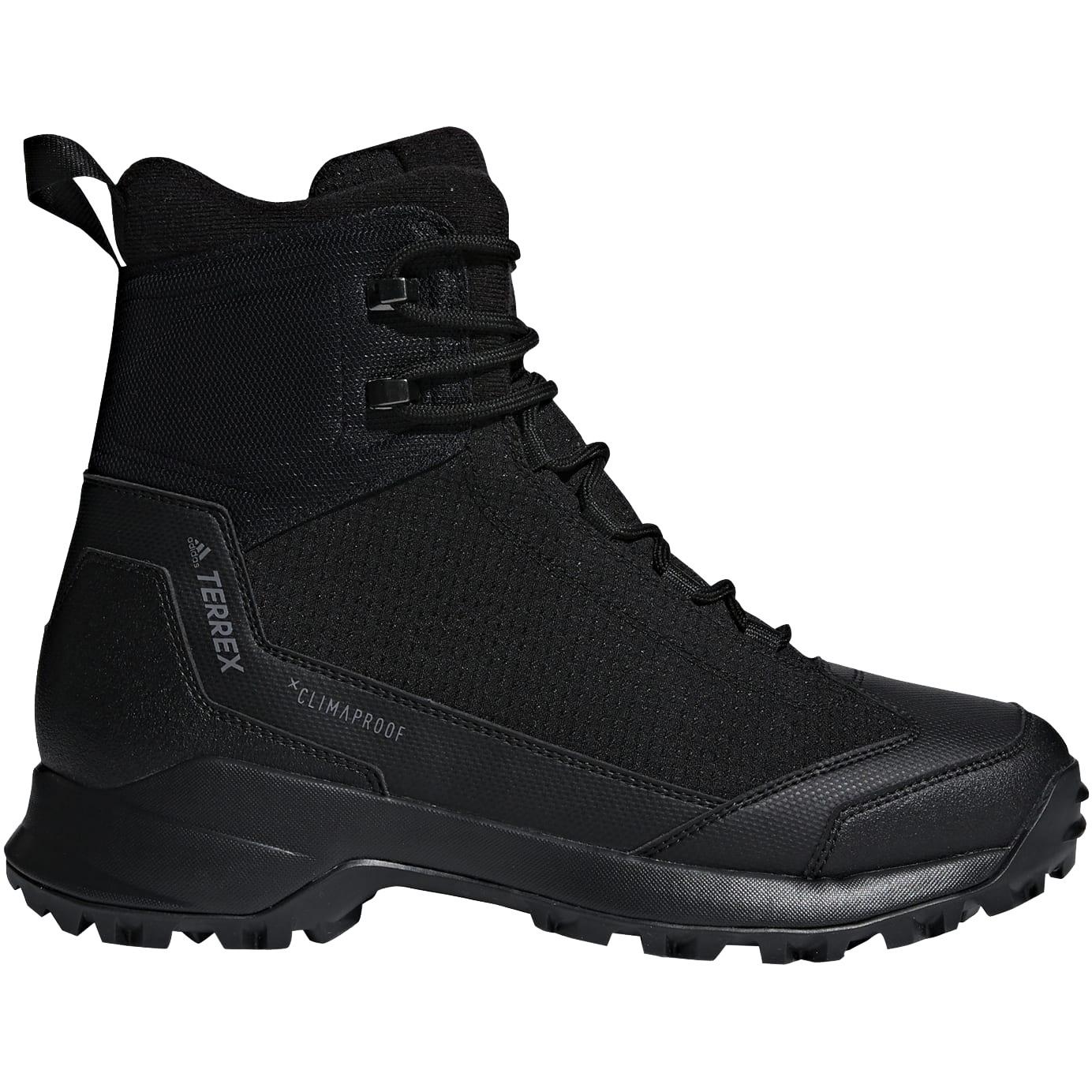 adidas Men's TERREX Frozetrack High Winter Hiking Shoes - core black/core black/grey four AC7838