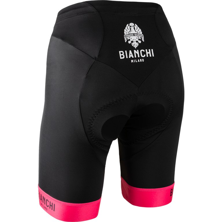Image of Nalini Bianchi Milano Avola Women's Shorts - black/pink 4700