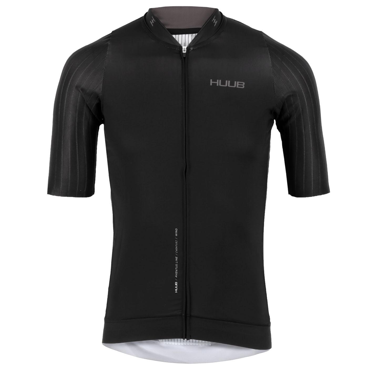 Produktbild von HUUB Design Aventus Cycle Kurzarm-Trikot - schwarz/charcoal