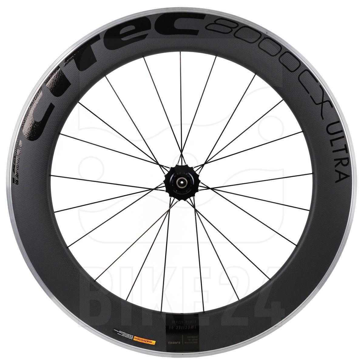 CITEC 8000 CX / 80 Ultra Carbon 28 Inch Rear Wheel - Clincher - 10x130mm QR - black