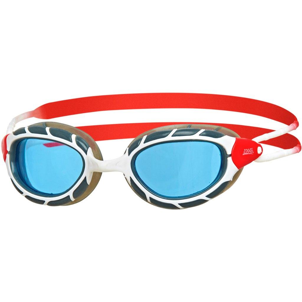 Produktbild von Zoggs Predator Schwimmbrille - White/Red/Tint