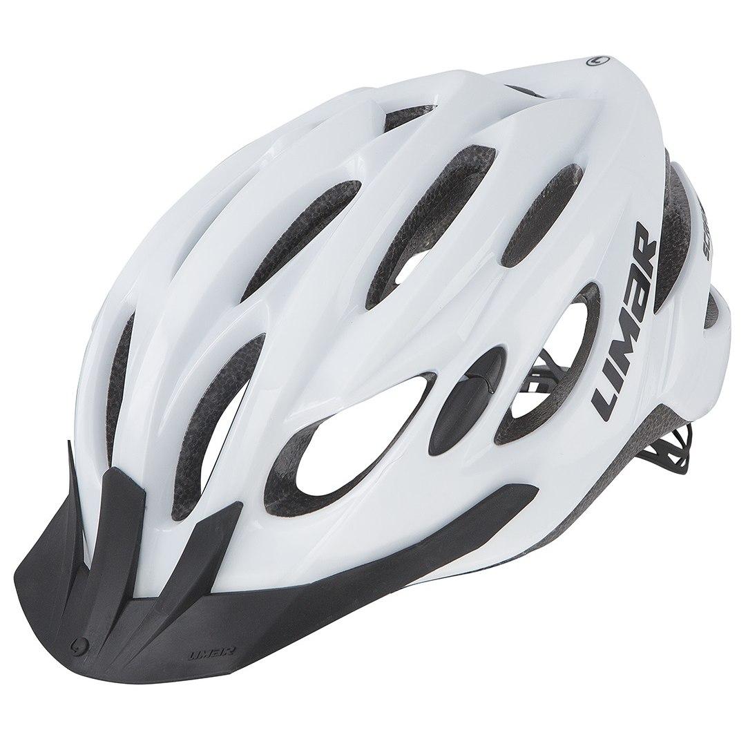 Limar Scrambler Helm - White