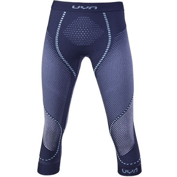 UYN Multisport Ambityon 3/4 Unterhose Damen - Deep Blue/White/Light blue