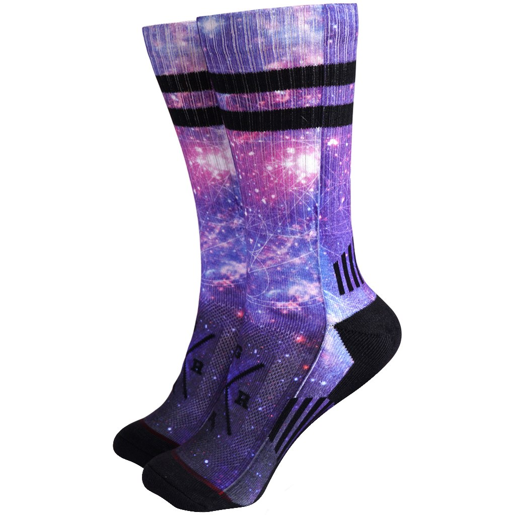 Loose Riders Socken - Kosmic Dark