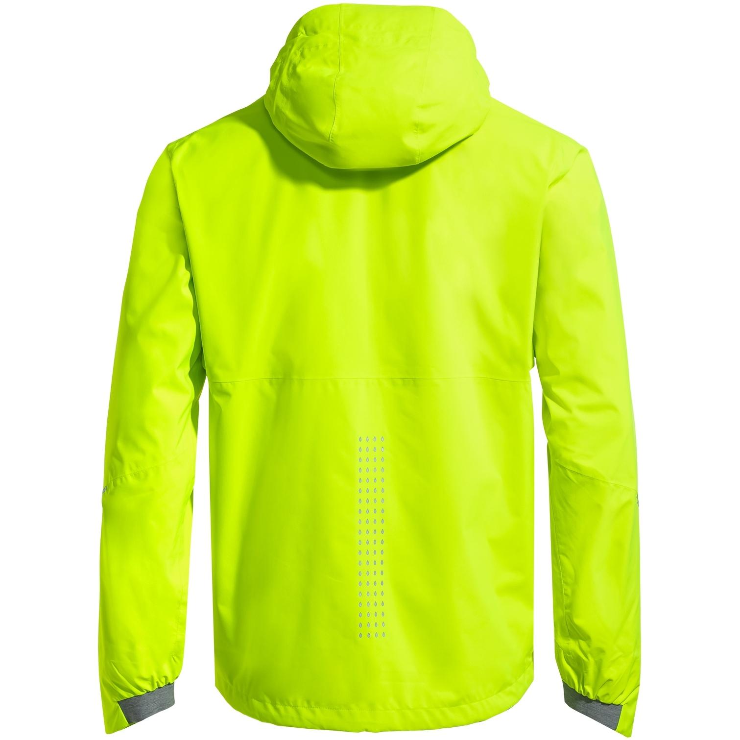 Image of Vaude Men's Yaras 3in1 Jacket - neon yellow