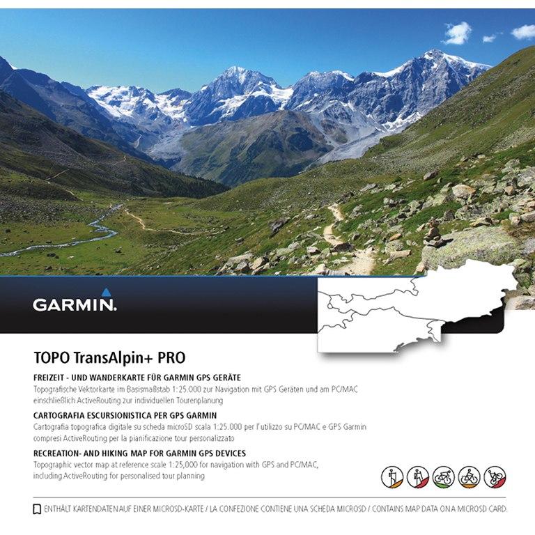 Bild von Garmin Oregon 700 GPS Navigationscomputer + TransAlpine+ PRO microSD Bundle - schwarz