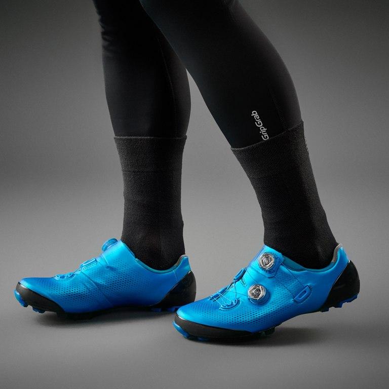 Image of GripGrab Thermolite Winter Sock SL - Black