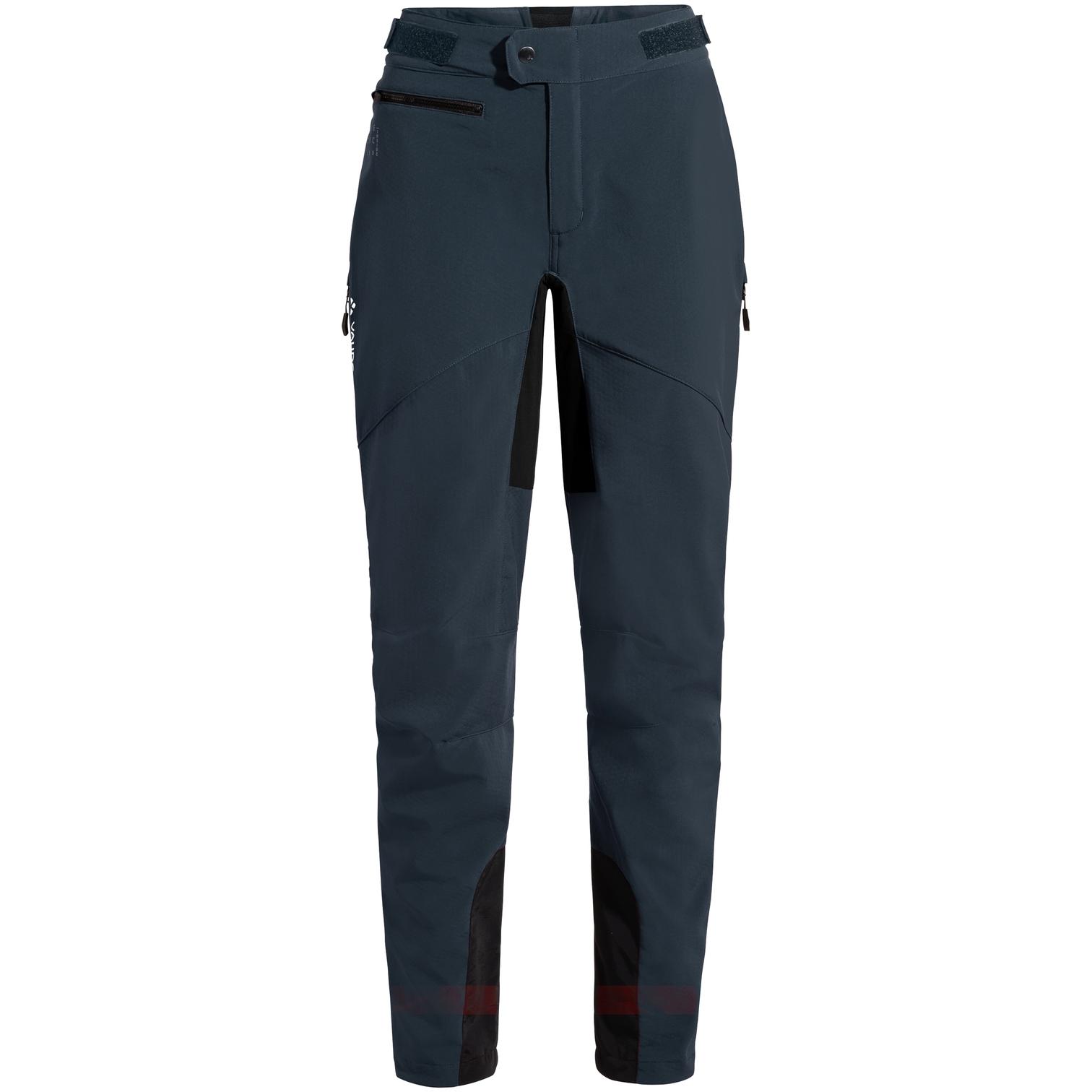 Vaude Women's Qimsa Softshell Pants II - dark sea