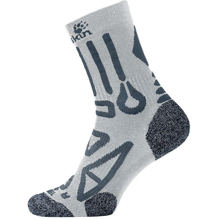 Jack Wolfskin Trekking Pro Classic Cut Socken - grey haze
