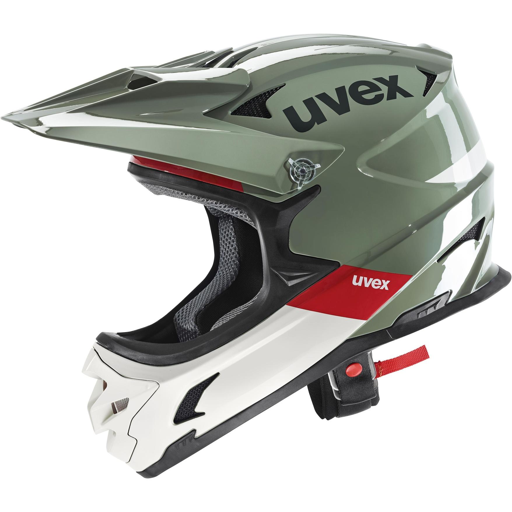 Uvex hlmt 10 bike Helmet - moss green sand