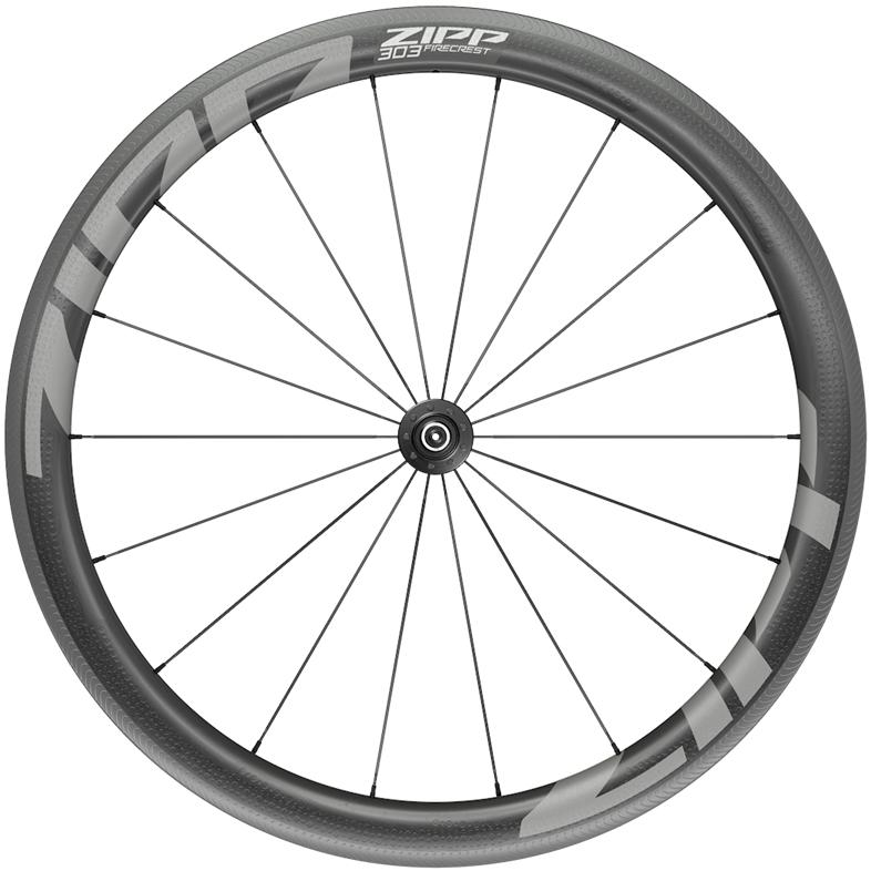 ZIPP 303 Firecrest Carbon Vorderrad - Schlauchreifen - QR - schwarz