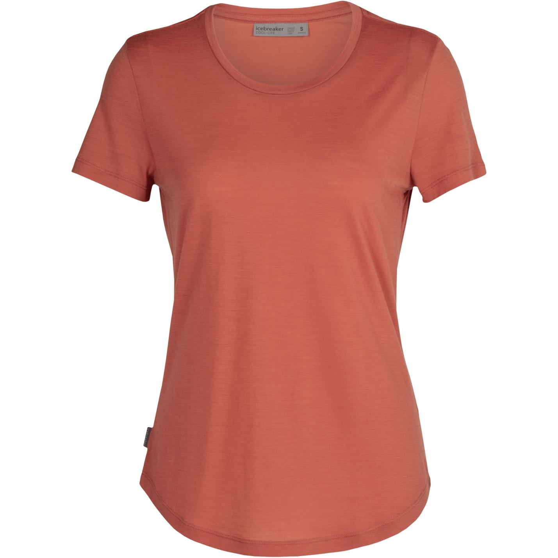 Produktbild von Icebreaker Sphere Low Crewe Damen T-Shirt - Clay