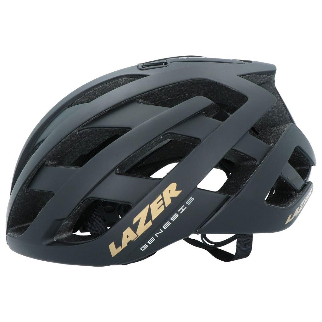 Lazer Genesis Helmet - Gold Edition - matte black