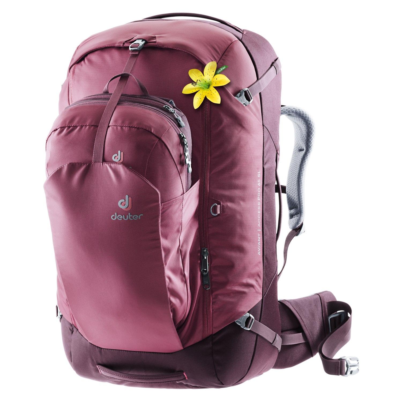 Deuter AViANT Access Pro 65 SL Women's Travel Backpack - maron-aubergine
