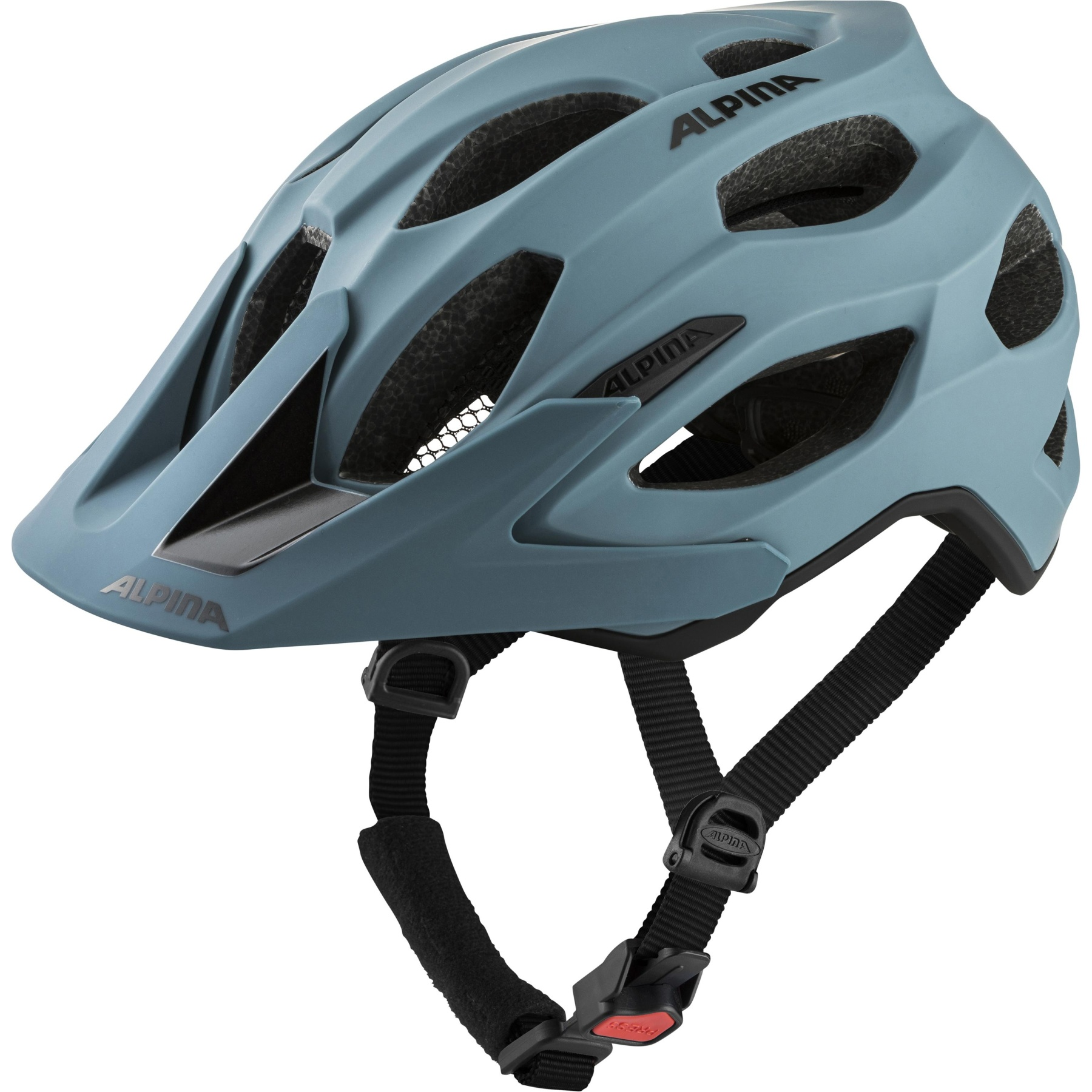 Alpina Carapax 2.0 Helmet - dirt-blue matt