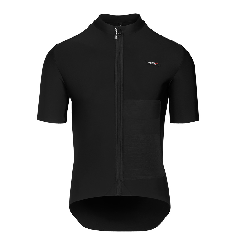 Assos EQUIPE RS Winter Short Sleeve Mid Layer Jersey - blackSeries