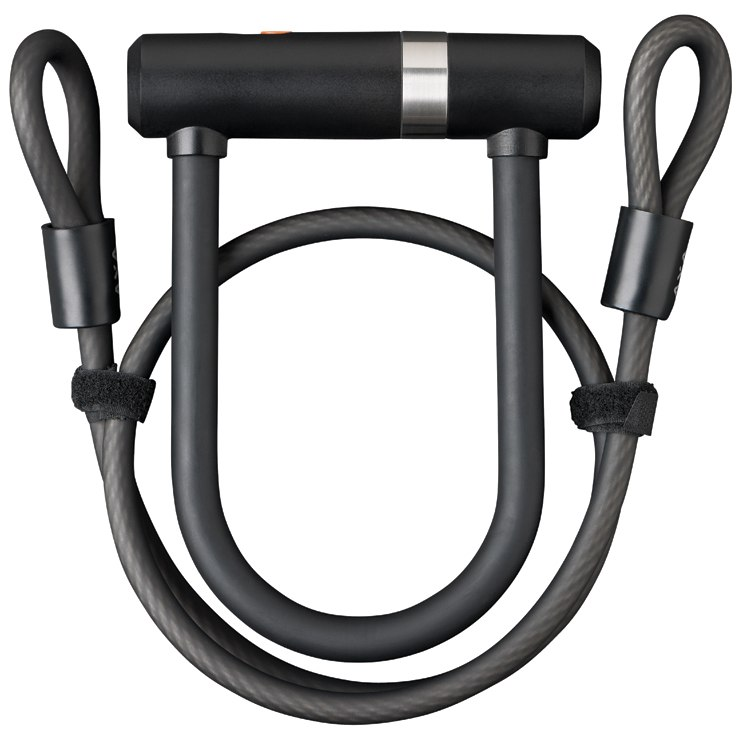 AXA Newton Mini Pro U-Lock with Cable