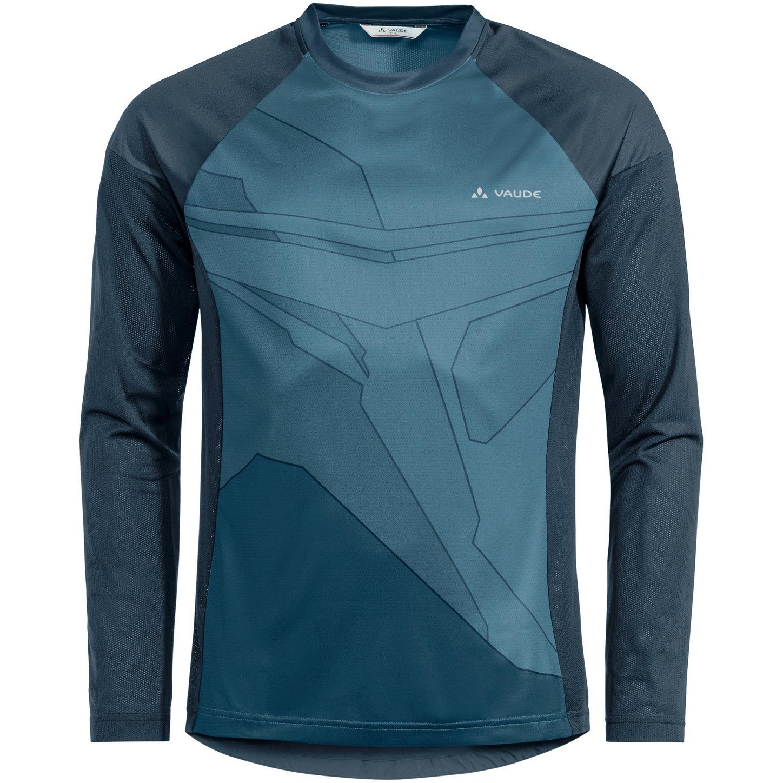 Vaude Moab Langarm T-Shirt VI - blue gray