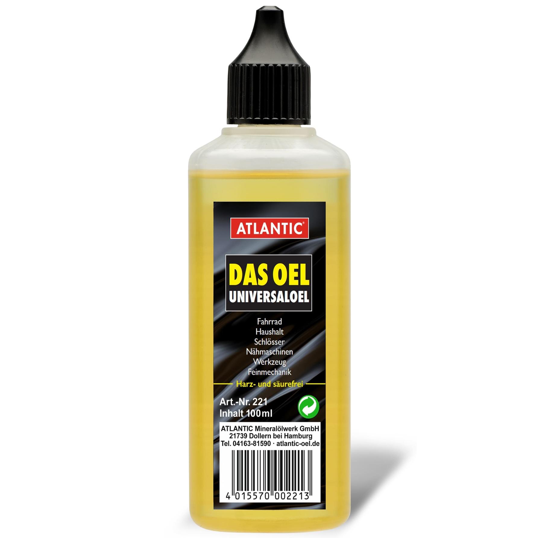 Image of Atlantic DAS OEL - Universal Oil - 100 ml Dropper Bottle
