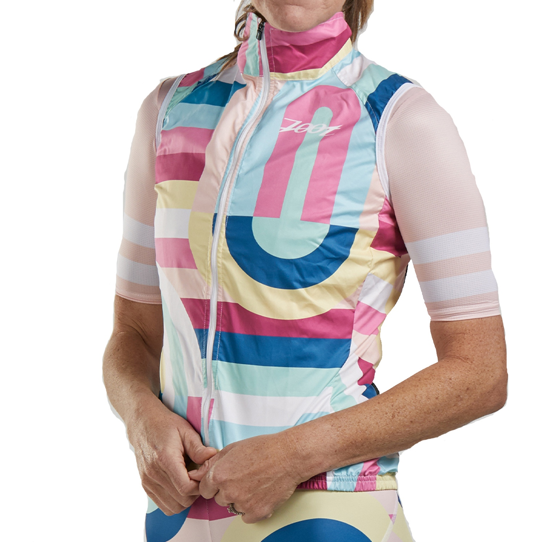 ZOOT Women's LTD Cycle Vest - riviera