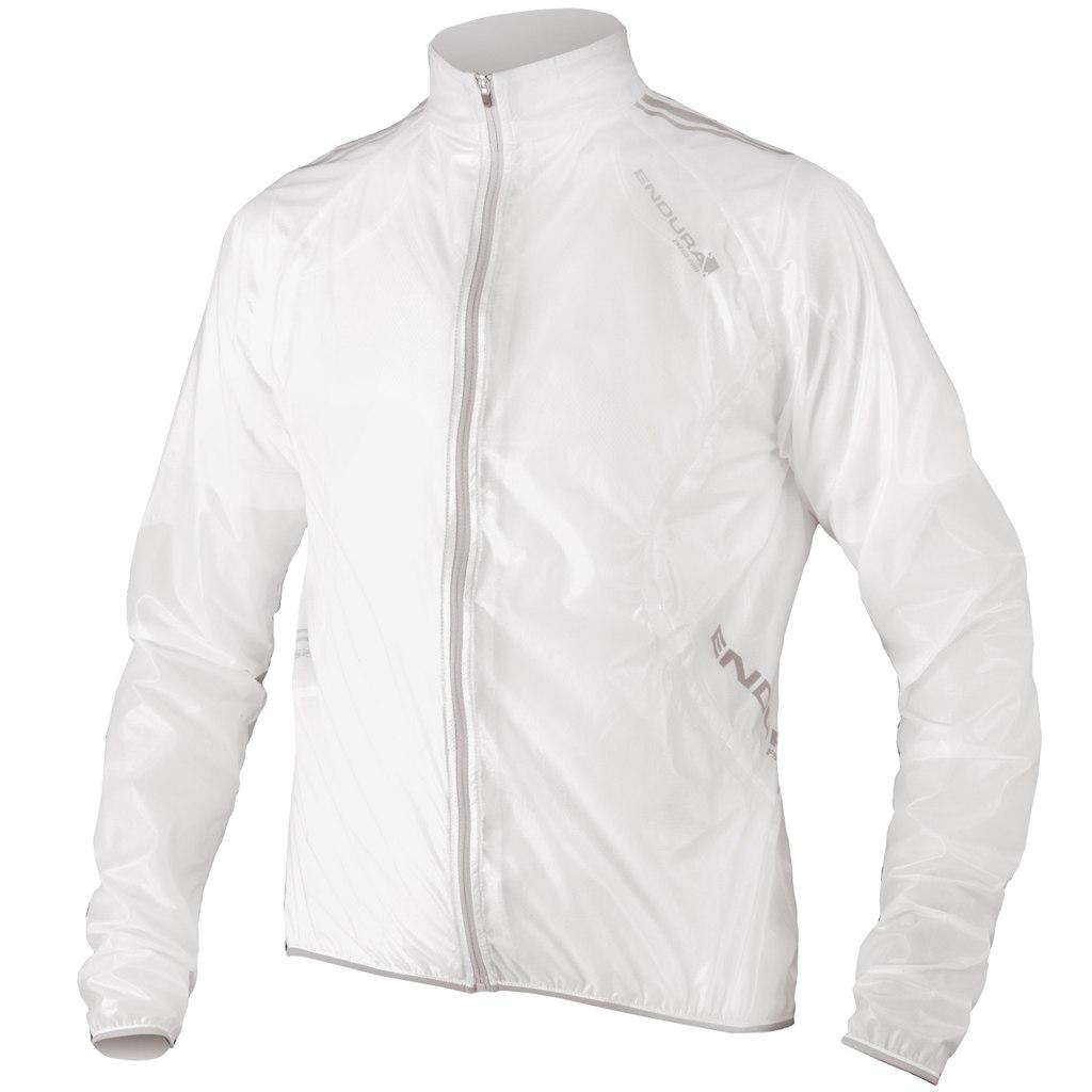 Endura FS260-Pro Adrenaline Race Cape Regenjacke - transparent weiß