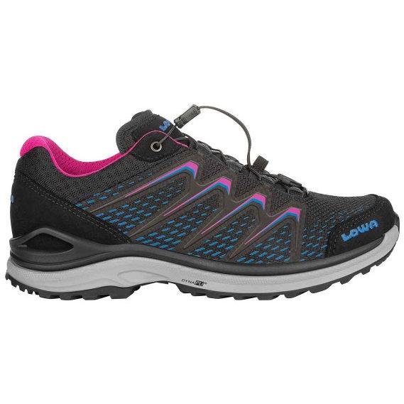 LOWA Maddox GTX LO Ws Women's Shoe - black/fuchsia