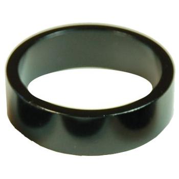 Wheels Manufacturing Steuersatz Spacer - 10mm/20mm - 1 Zoll (1 Stück) - schwarz eloxiert