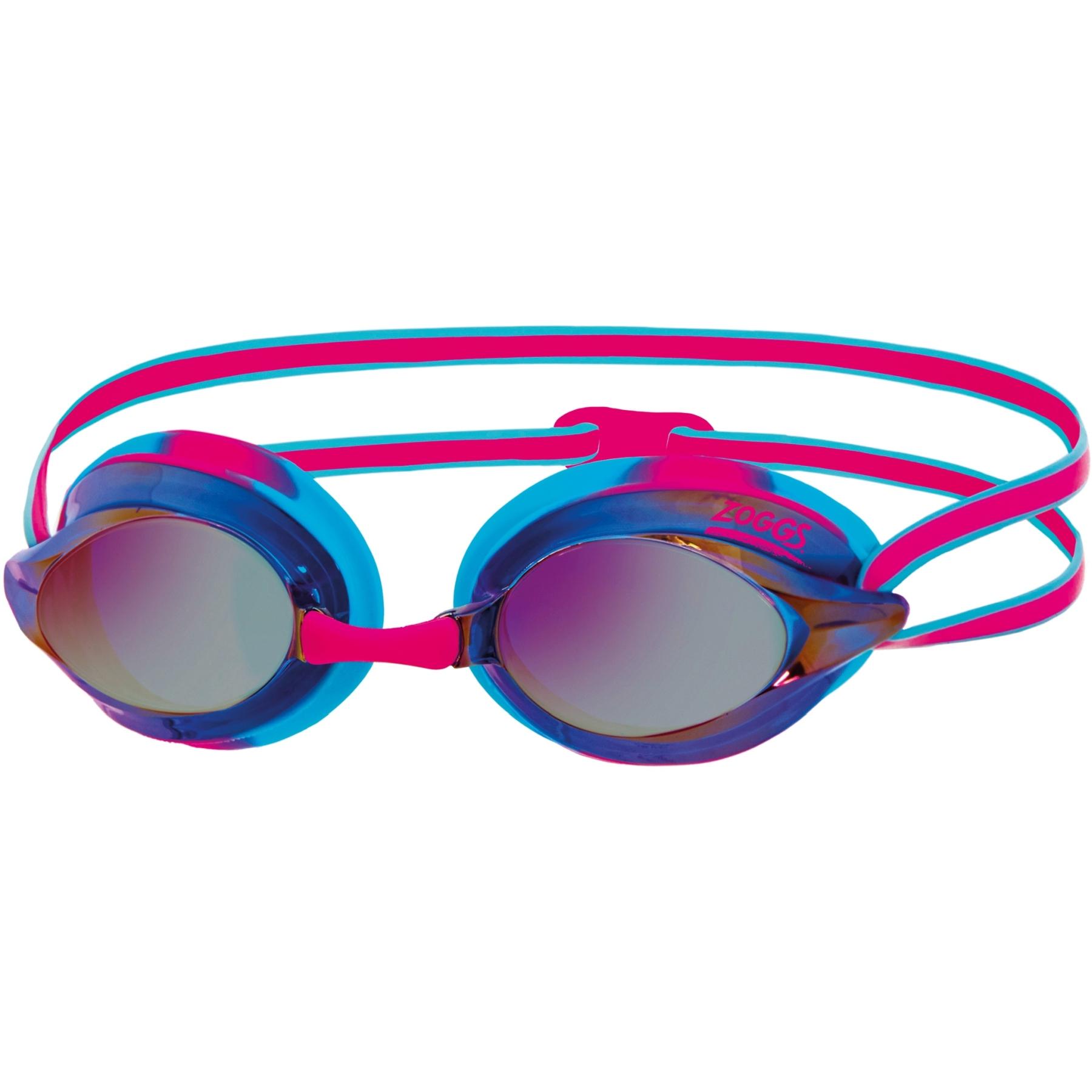 Zoggs Racespex Mirror Schwimmbrille - blue/pink/mirrored