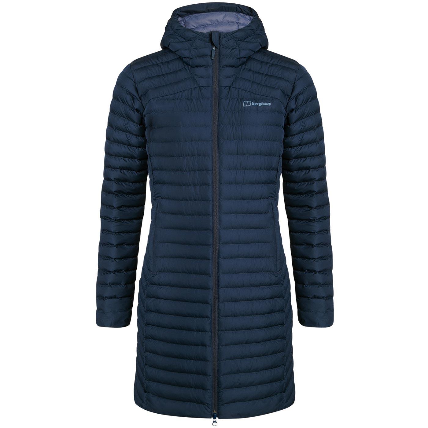 Berghaus Women's Nula Micro Long Insulated Jacket - Dusk R14