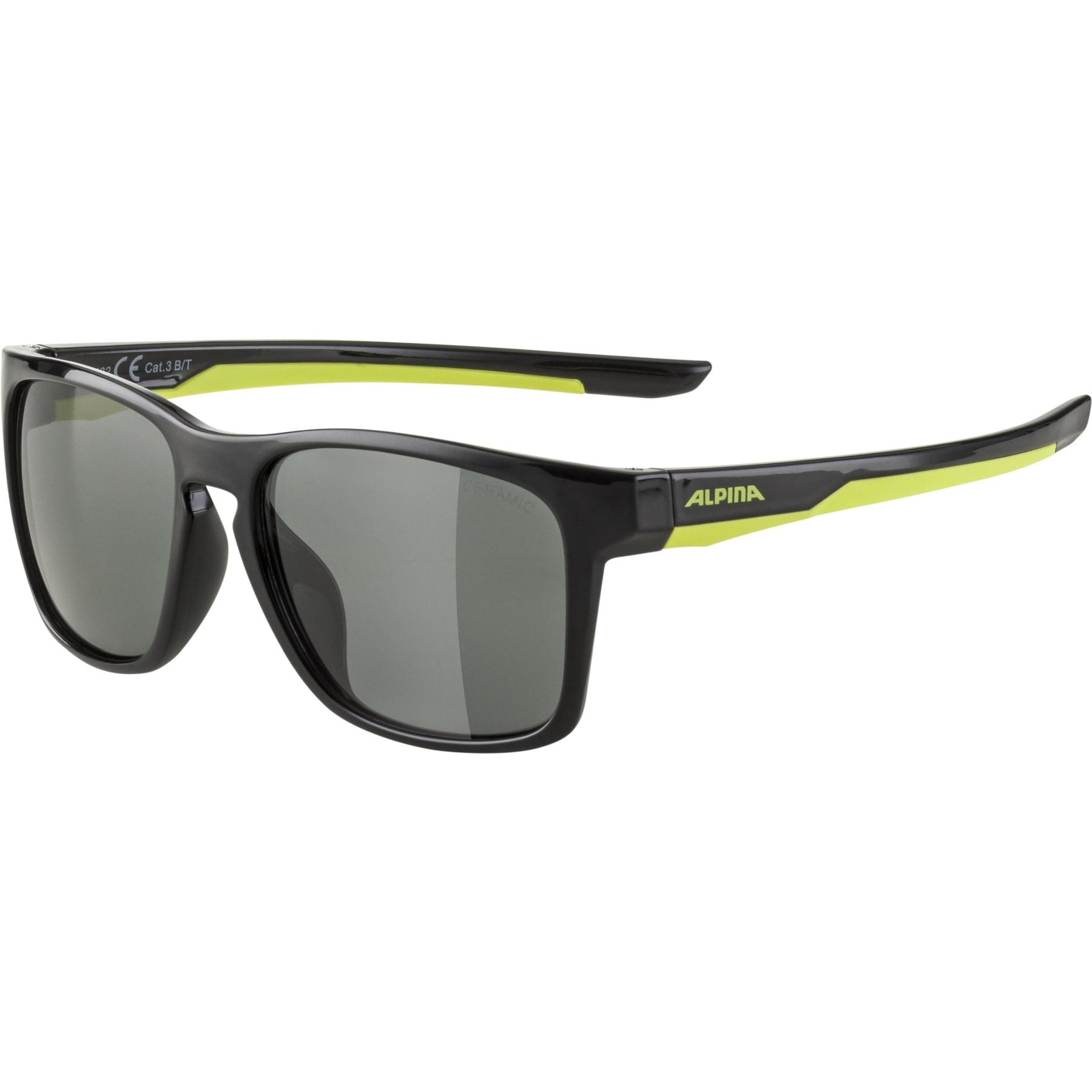 Alpina Flexxy Cool Kids I Glasses - black-neon  / black