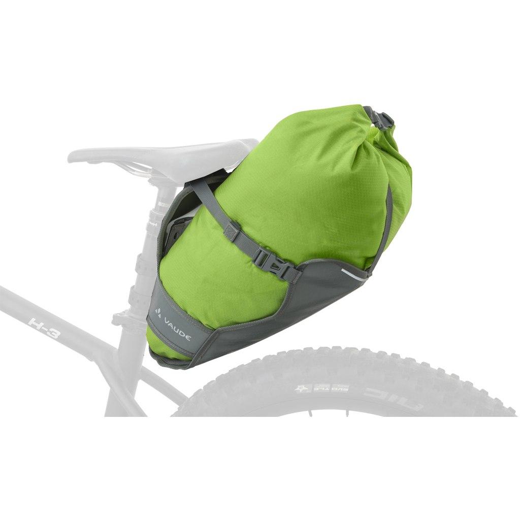 Image of Vaude Trailsaddle Saddle Bag - black/green