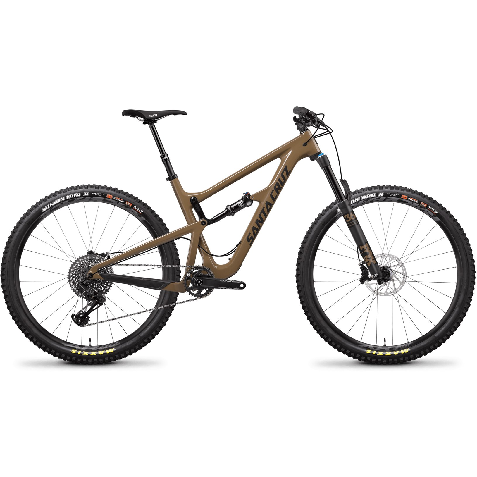 Santa Cruz HIGHTOWER LT CARBON C S Mountainbike - 2019 - clay & carbon
