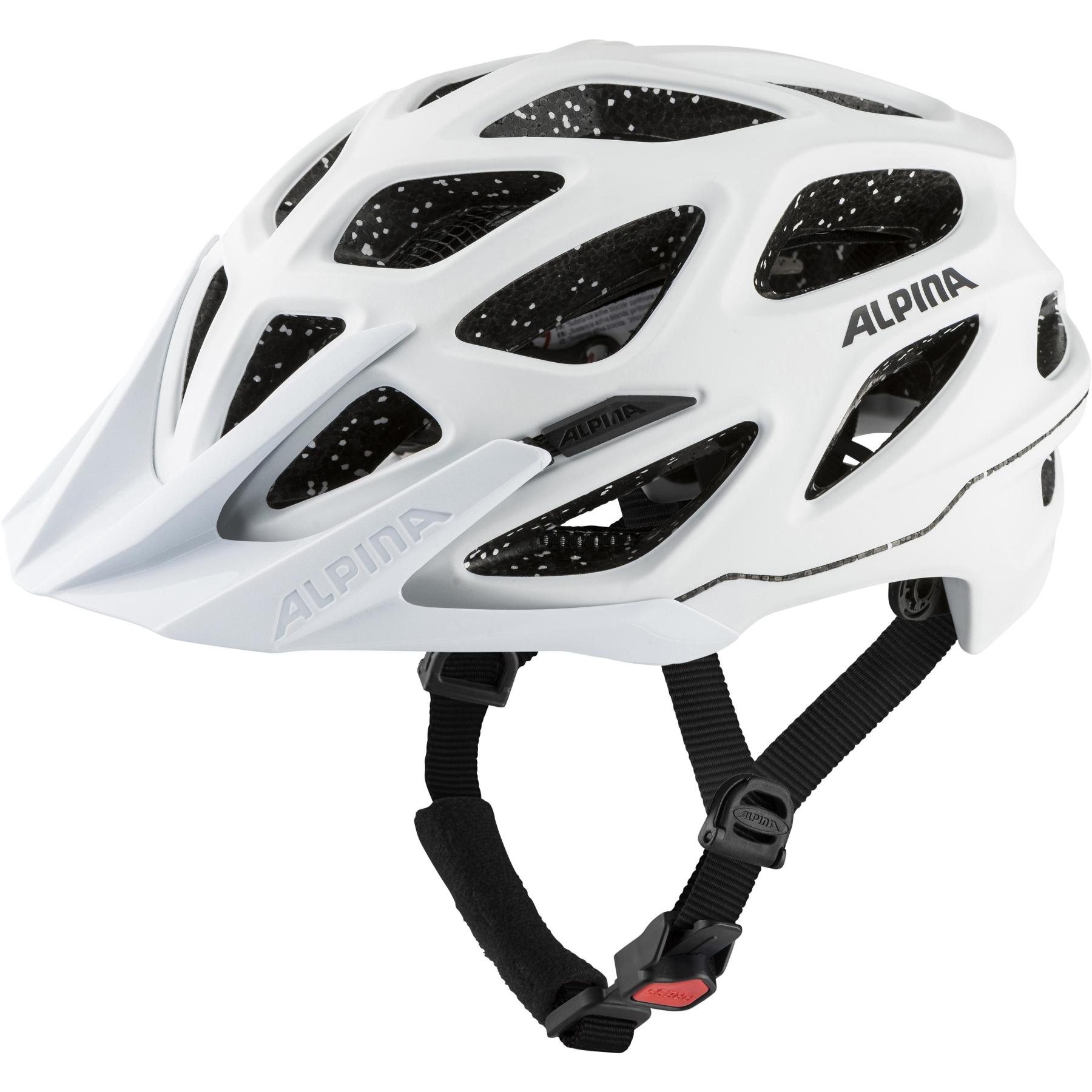 Alpina Mythos Tocsen Helmet - white matt