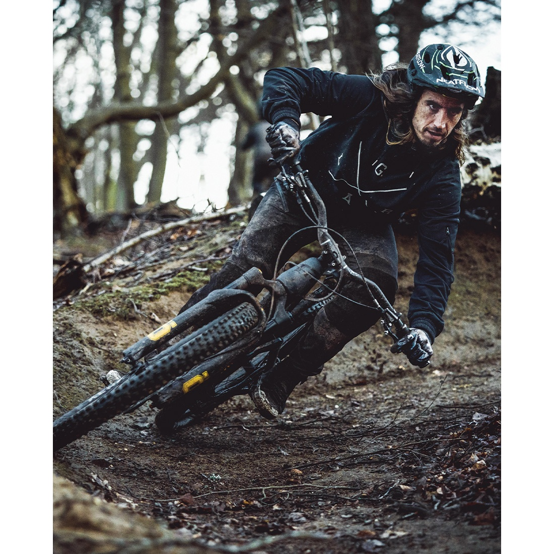 Image of Loose Riders Fleece Pullover - Black