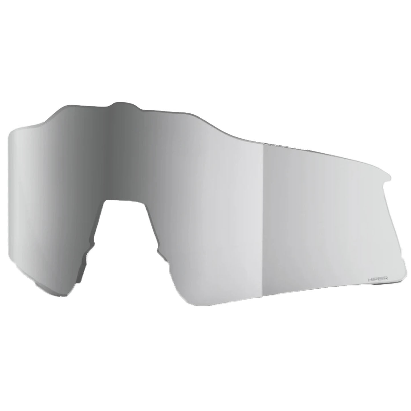 100% Speedcraft XS HiPER Mirror Lente de repuesto - HiPER Silver Mirror