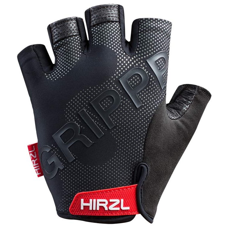 Hirzl Grippp Tour SF 2.0 Short Finger Gloves - Black