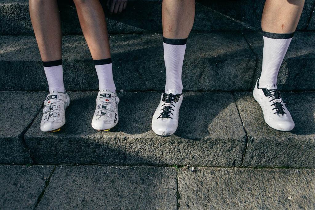 Bild von Isadore Climber's Socken - White