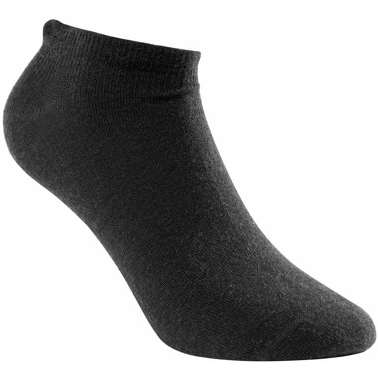 Woolpower Shoe Liner Unisex Socks - black