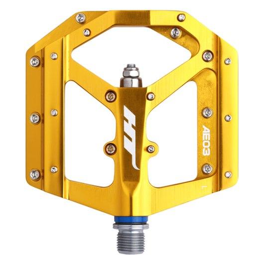 HT AE03 EVO+ Flat Pedal Aluminium - gold